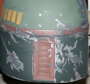 Here is the Mystery Helmet I did in 2008 that features a much more