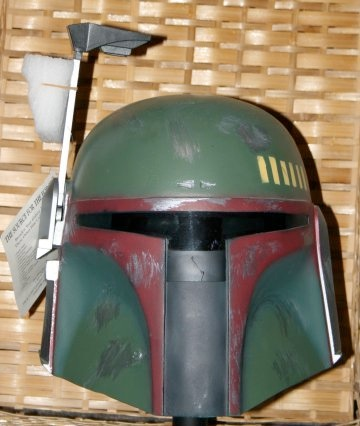 This is what the helmet looked like in it's original format. Note that